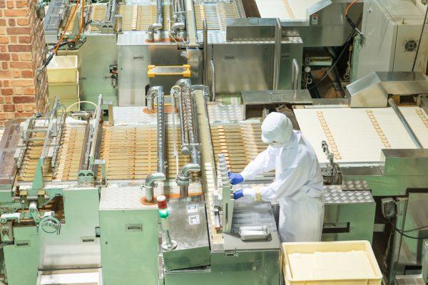 工場などの製品管理等