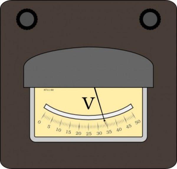 電圧(ボルト)サムネイル